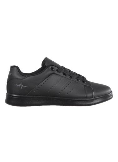 Bestof 041 Siyah Unisex Spor Ayakkabı Siyah